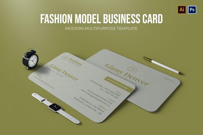 Thumbnail for Mode-Modell - Visitenkarte