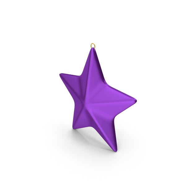 Thumbnail for Star Ornament Purple
