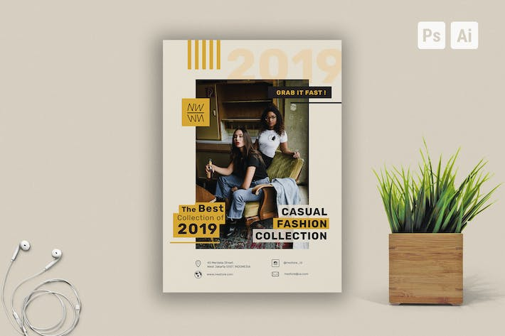 Thumbnail for Fashion Flyer Template Vol.3