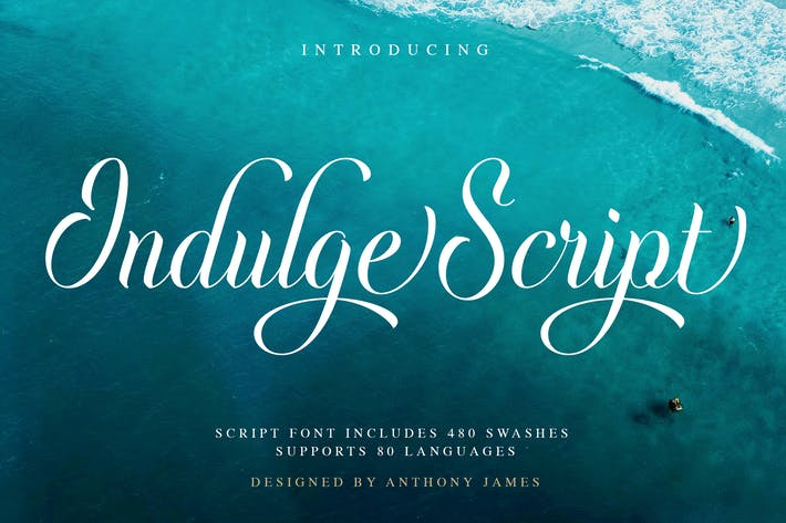 Cover Image For Indulge Script | Font