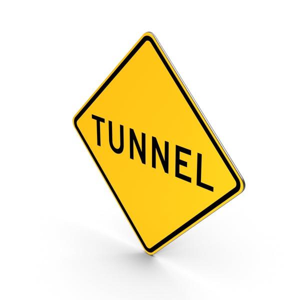 Schild Tunnelstraße