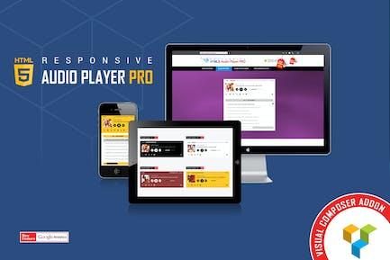 Visual Composer Addon - HTML5 Audio Player PRO
