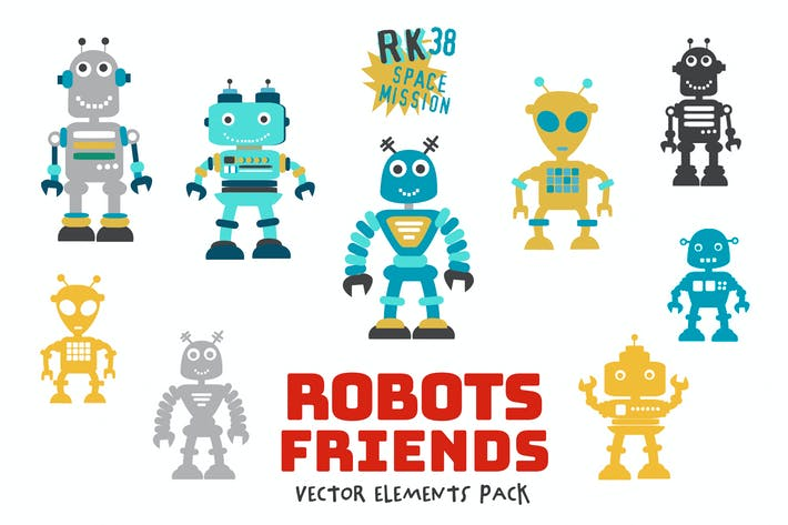 Thumbnail for Robots Friends Pack