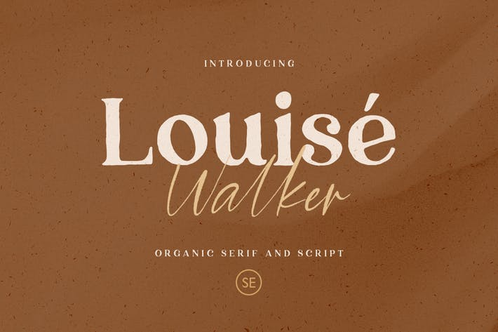 Thumbnail for Louise Walker - Font Duo