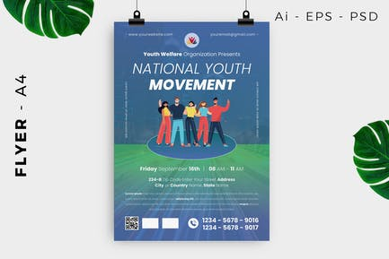 Youth Flyer Design
