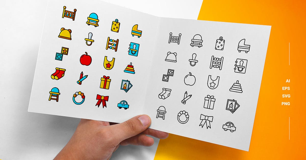 Download Baby - Icons by esensifiksi