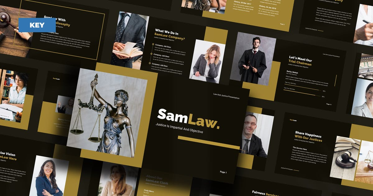 Download SamLaw Justice And Law - Keynote UP by Rometheme