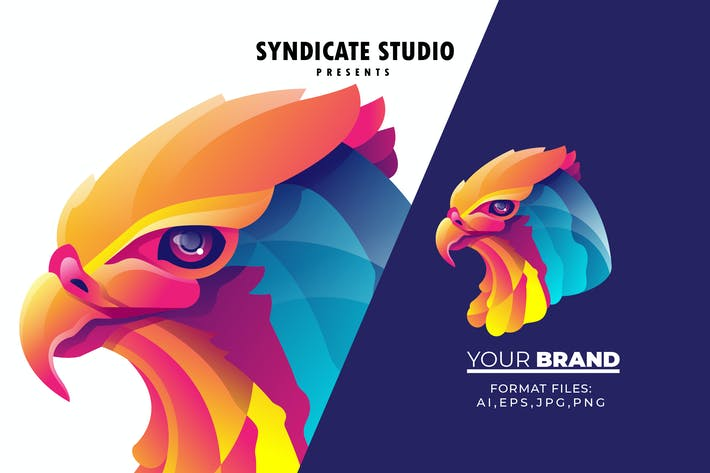 Thumbnail for Bird Gradient Logo