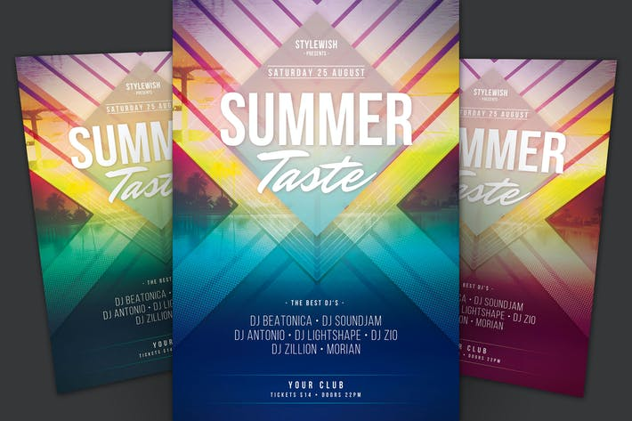 Thumbnail for Summer Taste Flyer
