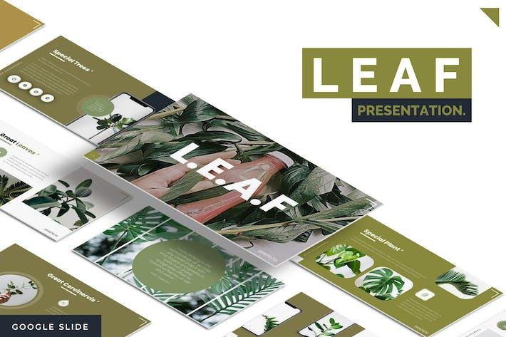 Leaf -  Google Slides Template