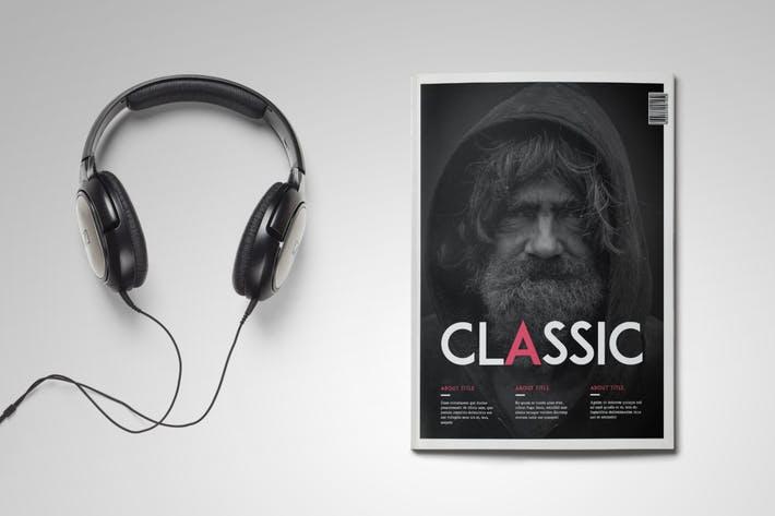 Thumbnail for Classic Magazine Template