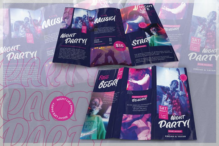 Modern Night Club - Brochure