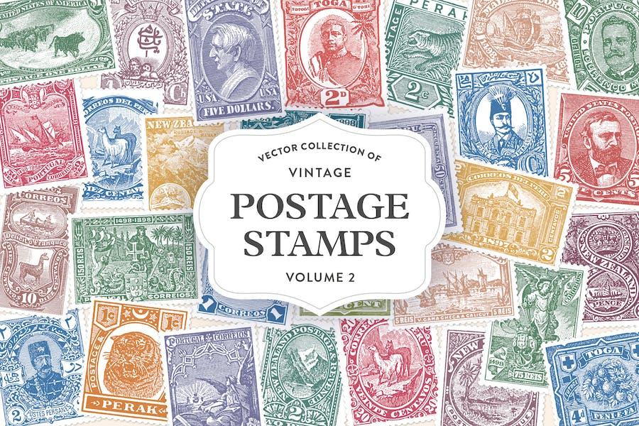 Vintage Postage Stamps Vol. 2