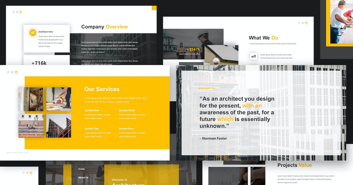 Download Pablo Architecture Keynote Template by giantdesign