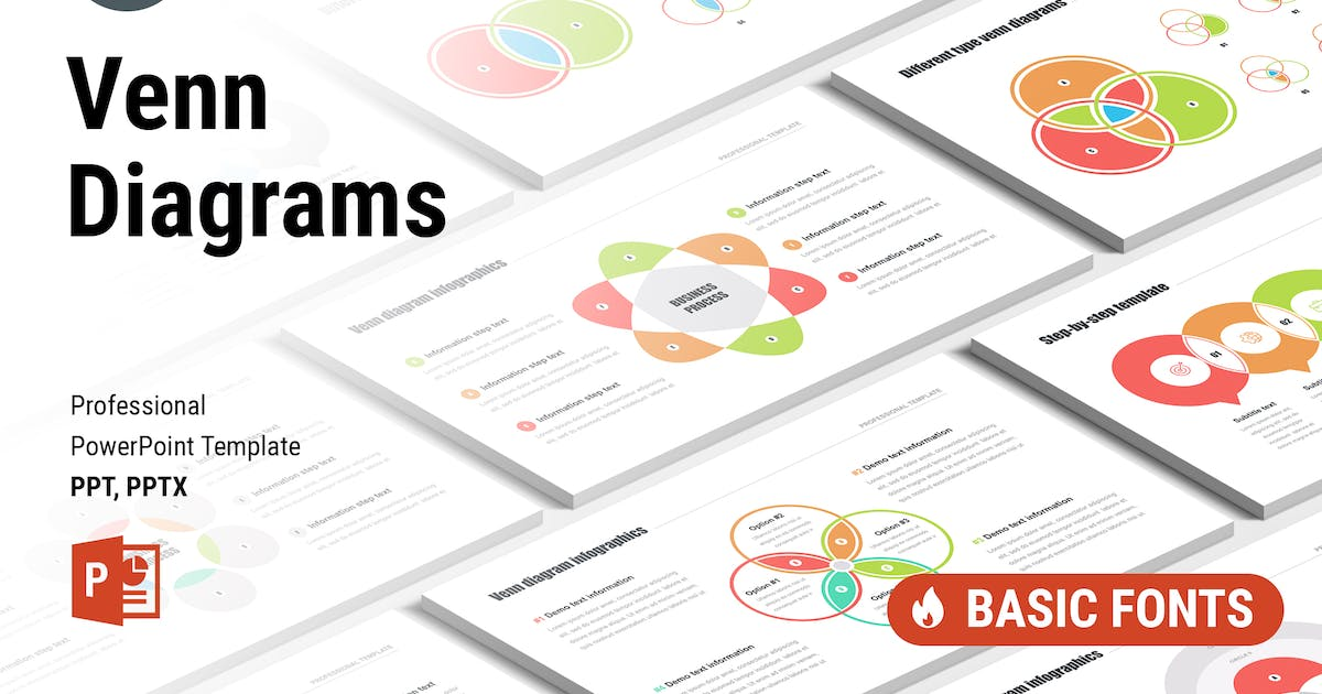 Download Venn Diagrams Pack for PowerPoint by Site2max