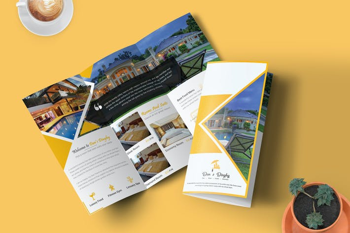 Thumbnail for Hotel & Resort - Trifold Broschüre