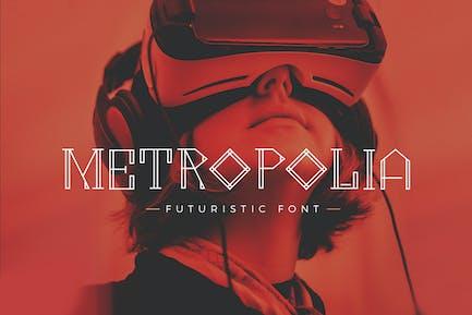 Metropolia - Police futuriste