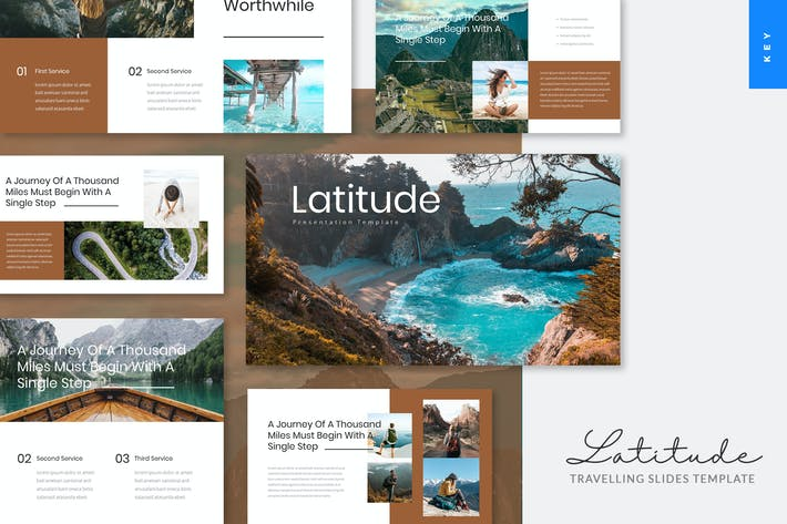 Thumbnail for Latitude - Travelling Keynote Template