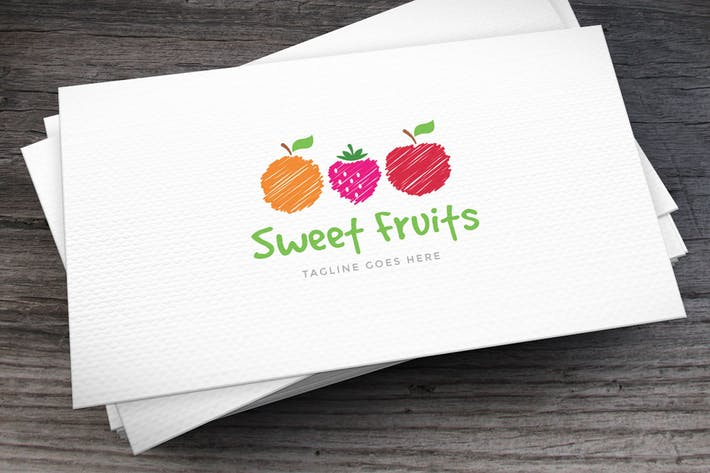 Thumbnail for Sweet Fruits Logo Template