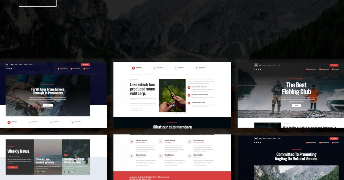 Download Mancink - Fishing & Angling WordPress Theme by ridianur