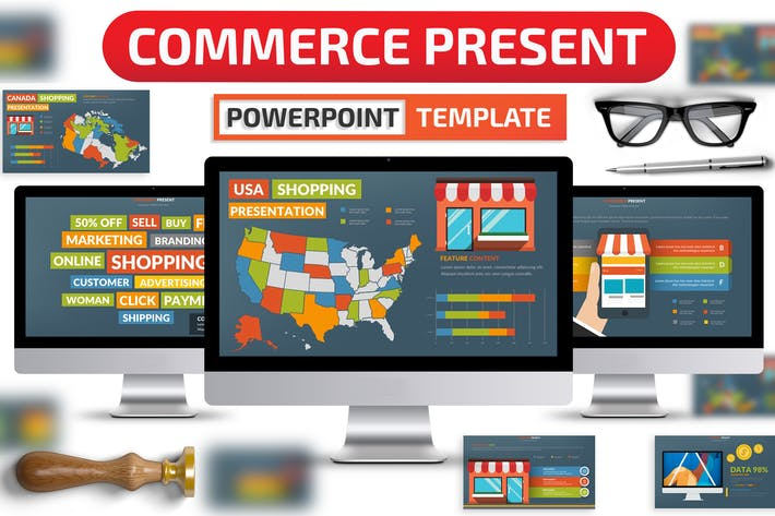 Thumbnail for Commerce Powerpoint Presentation