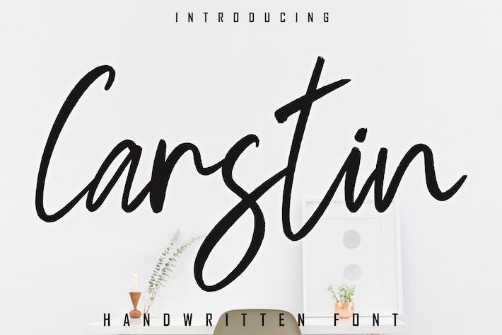 Thumbnail for Carstin Fuente manuscrita