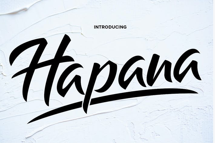Thumbnail for Hapana - Authentic Display Font