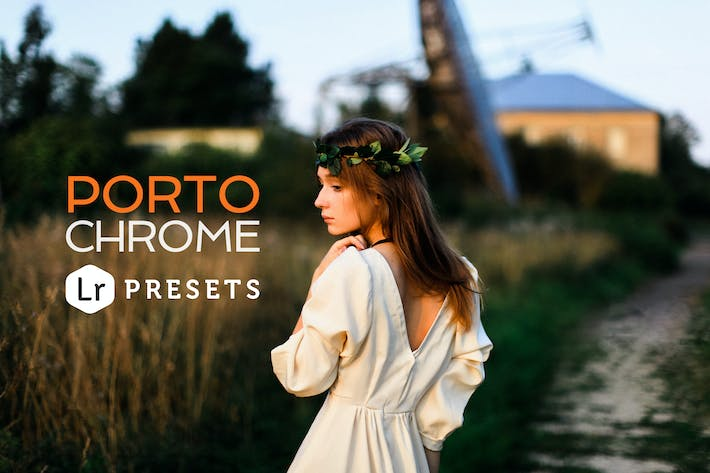 Cover Image For Portochrome Lightroom Presets