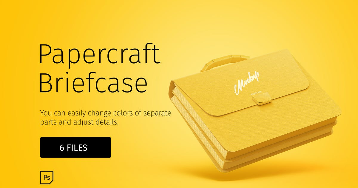 Download Papercraft Briefcase by TIT0