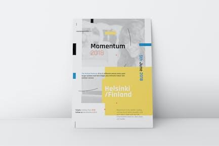 Momentum Corporate Poster/Flyer