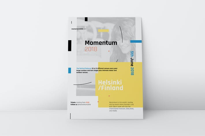 Momentum Corporate Poster/Flyer