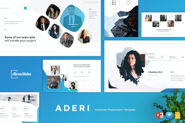 Thumbnail for Aderi - Corporate Powerpoint Template