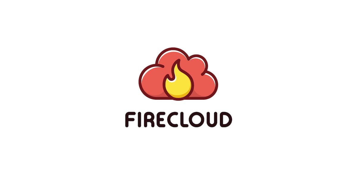 Download Fire Cloud - logo template by Zomorsky