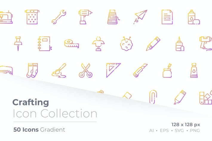 Thumbnail for Crafting Gradient Icon