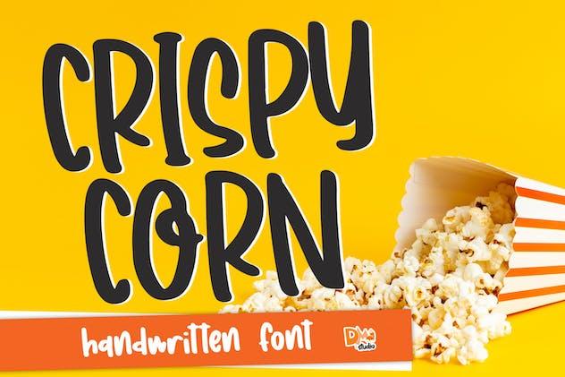 Crispy Corn - Handwritten Font