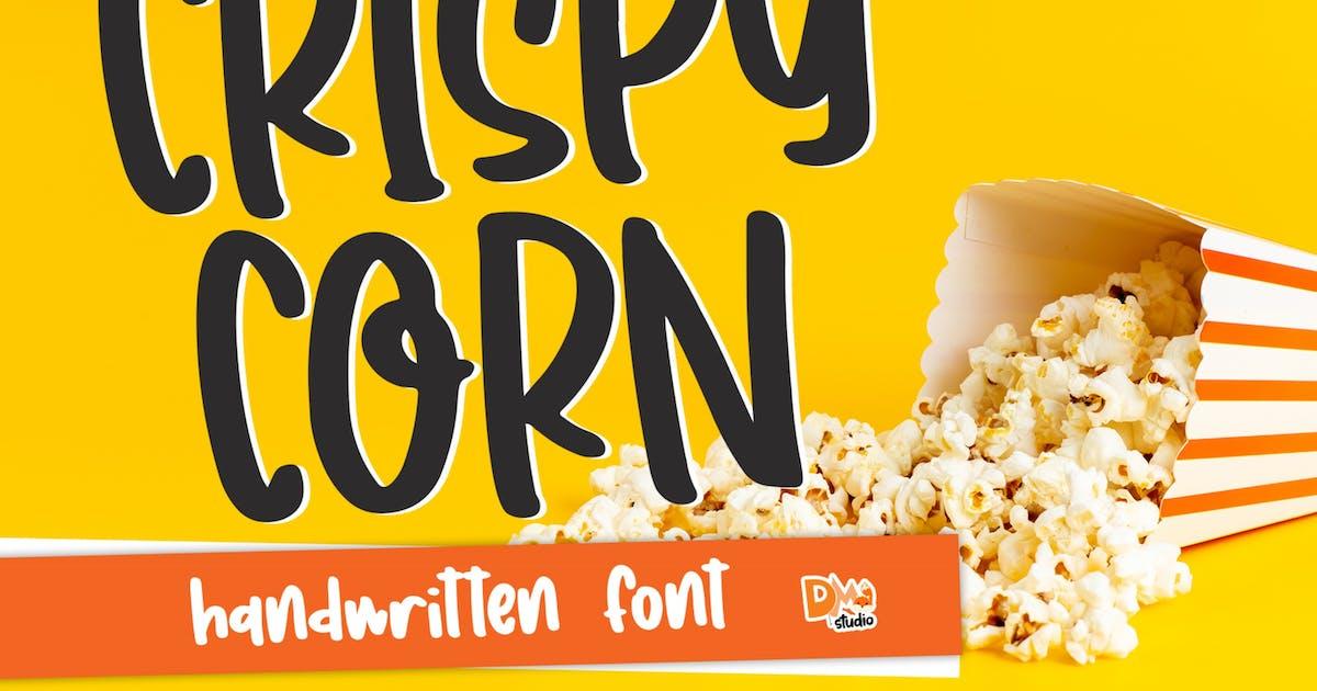 Download Crispy Corn - Handwritten Font by DmLetter