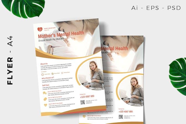 Thumbnail for Mother / Mom Medical Flyer Design