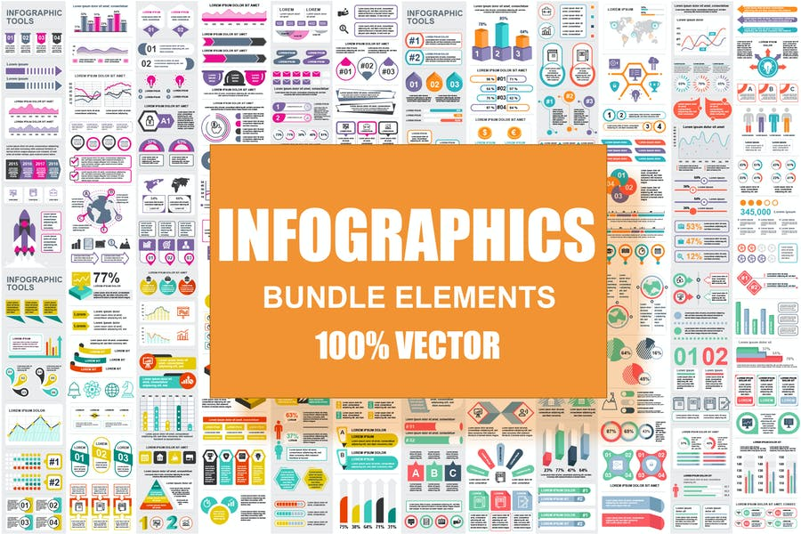 Infographic Elements Template Info Graphics