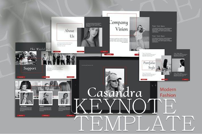 Thumbnail for CASANDRA - Шаблон ключевых заKeynote моды