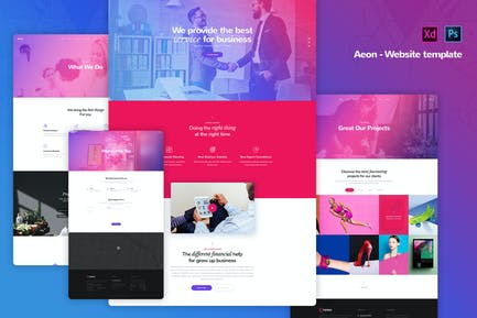 Aeon - Corporate Business Website Templates
