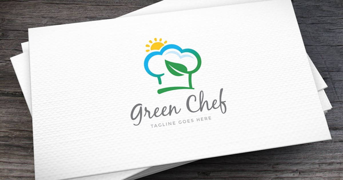 Download Green Chef Logo Template by empativo