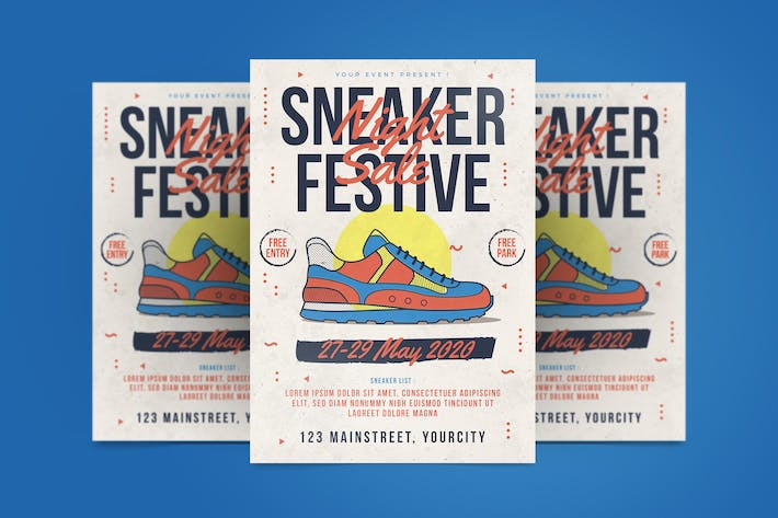 Thumbnail for Sneaker Day Flyer