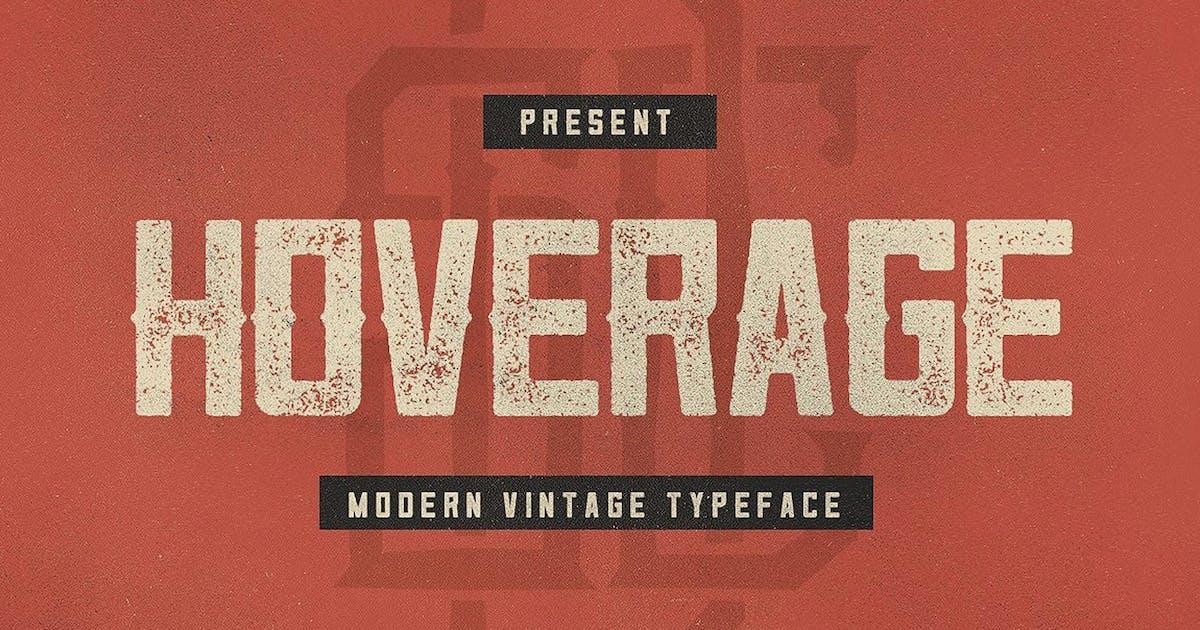 Download Hoverage Typeface by swistblnk