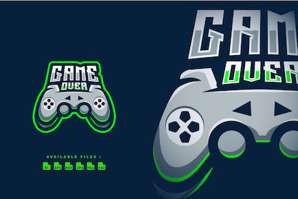 Game Over Esport and Sport Logo