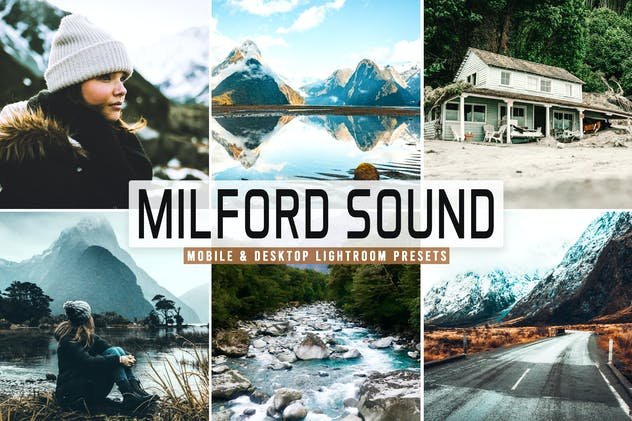 Milford Sound Mobile & Desktop Lightroom Presets