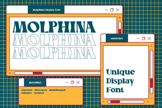 MOLPHINA Display Font