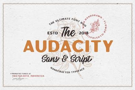 Audacity - Font Duo (+EXTRAS)