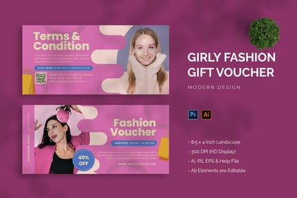 Girly Fashion - Gift Voucher