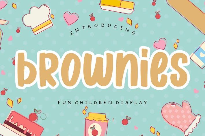 Brownies Fun Children Display