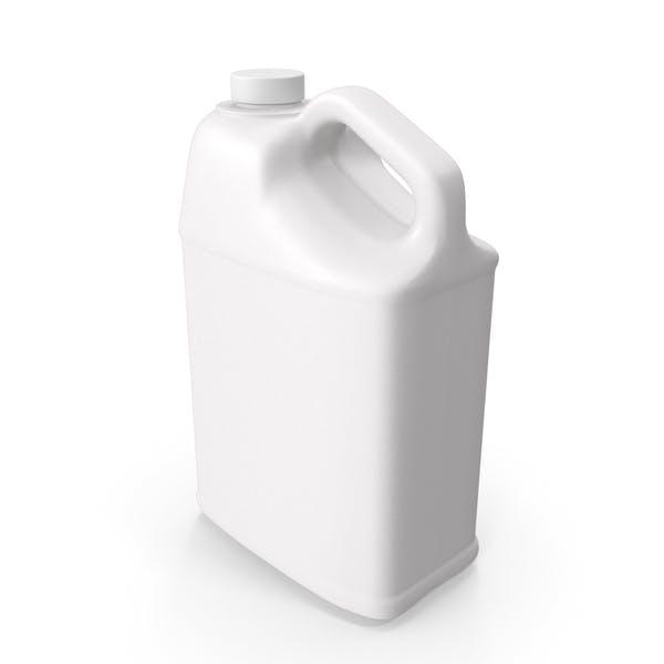 Пластиковая бутылка 25 галлонов с гладкой пластиковой крышкой